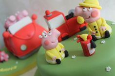 Peppa and George - firefighters - tutorial