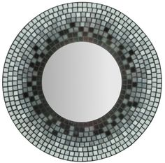 Stained Glass Mosaic Mirror by MIRRORMONTAGES on Etsy, $140.00