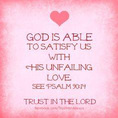 Psalm 90:14