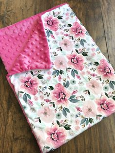 minky blankie Excited to share the latest addition to my shop: Floral Baby Blanket, Baby Girls Handmade Baby Items, Handmade Baby Blankets, Personalized Baby Blankets, Flannel Baby Blankets, Baby Girl Blankets, Blue Baby Blanket, Minky Blanket, Baby Girl Gifts, Baby Girls