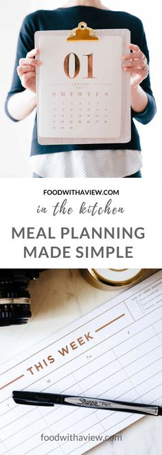 Ready to get into meal planning but not sure where to start? This simple guide is for you, including completely free printable and plenty of lessons learned. Sharpie Pens, Menu Planning, Lessons Learned, Foodie Travel, Ketogenic Diet, Make It Simple, Free Printables, Meals, How To Plan