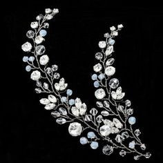 Accesorii de par mireasa http://www.bijuteriifrumoase.ro/cumpara/double-b-zweig-hair-jewel-17cm-1690
