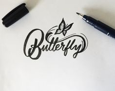 Lettering by Colin TierneyMedium used: Tombow Fudenosuke Brush...