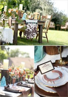 Lucky in Love Wedding Inspiration. If you're feeling lucky in love then don't miss this amazing shoot! Fall Wedding, Rustic Wedding, Ranch Weddings, Wedding Reception Table Decorations, Lucky In Love, Wedding Inspiration, Wedding Ideas, Floral Arrangements, Floral Design