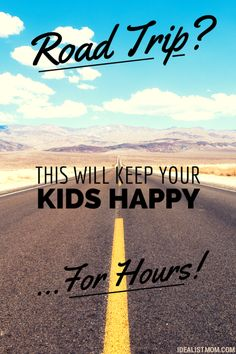 Keep the Kids Happy With This Road Trip Experiment