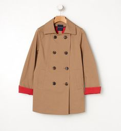 Spring coat / POPSUGAR Shopping: Tomorrowlandコーティング トラぺーズコート