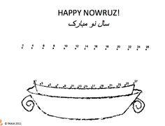 Coloring Page Sabzeh Norooz Norooz Activities