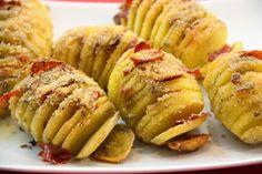 Kuchnia w wersji light: Ziemniaki pieczone z szynką parmeńską