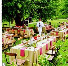 country wedding centerpiece ideas on rectangular table | Wedding ...