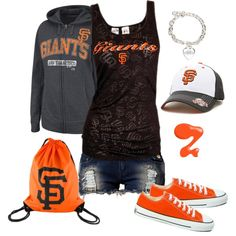 """""""SF Giants"""" by srose38 on Polyvore"""