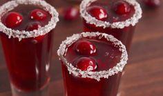 Cranberry Shots