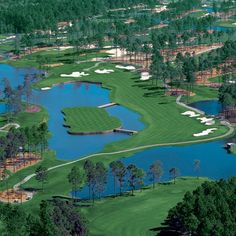 Kings North Golf Course, Myrtle Beach  The Gambler hole, Eagled it.