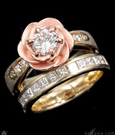 80 Best Floral Rings Images In 2020 Engagement Rings Wedding