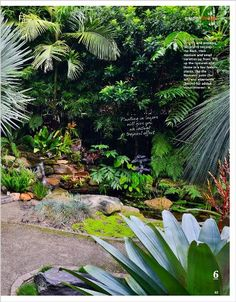 garden design clipped from better homes and gardens using netpage