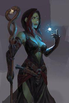 Your typical fantasy Monk. Fantasy Races, High Fantasy, Fantasy Warrior, Fantasy Rpg, Medieval Fantasy, Fantasy Girl, Fantasy Artwork, Female Character Concept, Fantasy Character Design