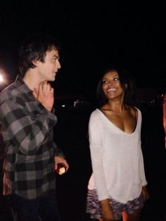 Ian and Kat didn't get along at first but she talked about how much she grew up and came to appreciate him. Many actors on TVD have mentioned that Ian helped and encouraged them.