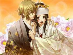 Hakuouki Shinsengumi Kitan (Demon Of The Fleeting Blossom) Image - Zerochan Anime Image Board Kimono Animé, Anime Kimono, Fire Emblem Azura, Samurai, Nagisa And Karma, Anime Wedding, Wedding Kimono, Clannad, Anime Love