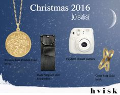 Christmas 2016 - wishlist
