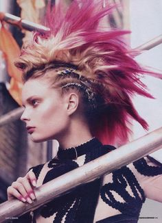 yes oh yes...check out a similar style done on a fashion model at BCP's KC RAW link...