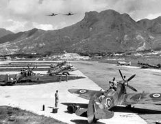 This Hong Kong Kai Tak Royal Air Force Station was opened in 1927 & was used for seaplanes. The RAF flight operated a few land-based aircraft as well as having spare aircraft for naval units. This photo was probably taken in the Clock Tower Hong Kong, Old Pictures, Old Photos, Kai Tak Airport, History Of Hong Kong, British Hong Kong, Asian Landscape, China Hong Kong, Planes