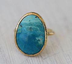 Bahgsu Jewels ☾✧ crystal jewelry :: Andean Opal Elfin Ring
