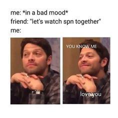 Mood #misha #castiel #supernatural #spnfamily #spn #cas #cass #mishacollins