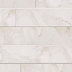 MARAZZI VitaElegante Bianco 6 in. x 24 in. Porcelain Floor and Wall Tile-ULP6 at The Home Depot