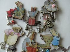 Beatrice PotterBeatrix Potter wooden Brooch by NewellsJewels, £7.00