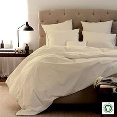 Amazon.com: 100% Organic Cotton 4pc Bed Bed Sheet Set 800 Thread Count Soft and Luxurious - Queen , Ivory: Home & Kitchen