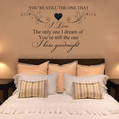 SHANIA TWAIN, YOU RE STILL THE ONE I LOVE Quote, Sticker, Decal, Mural, lyrics