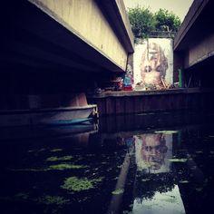 Hackney Wick, London - Canal Art alissavaldenassi.com