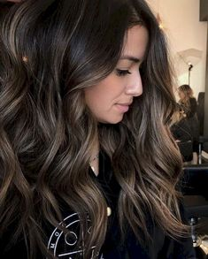 33 Hot Brunette Balayage Hairstyle Ideas