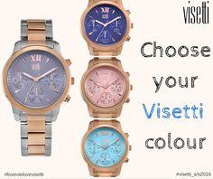 Choose your visetti colour!