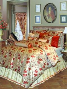 Rose Tree Tourendot King Comforter Set