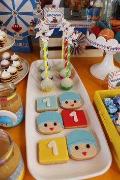 Pocoyo Cookies  Violeta Glace