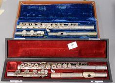 silver flutes including Yamaha Nippon Gakki YFL561 and Bundy Selmer ~ Realized Price $1,000.00
