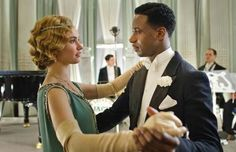 Downton Abbey explores racism and interracial relationships - Jack Ross and Lady Rose