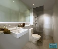 Close to bathroom layout