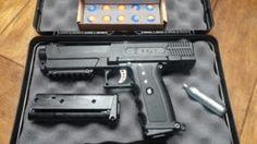 Salt Home Protection Gun for Self Defense Uses Pepper Spray Pellets