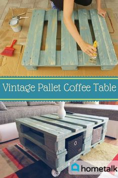 Get this great pallet project and fall in love with your living space when you join the world's largest home and garden community!