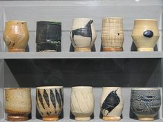 cups by Michael Simon, one of my pottery heroes.