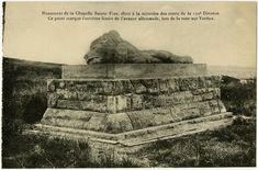 monument de la chapelle Sainte Fine élevé a la mémoire des morts de la 130e division Bataille De Verdun, Eastman House, Chapelle, Wwi, Saint, Division, History, Monuments, Pray