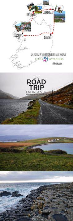 Toutes les étapes de mon voyage en Irlande au départ de Dublin. Une boucle de 10 jours à travers le Connemara, le comté de Donegal et les côtes d' Antrim...