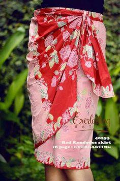 waw wawwwww Batik Kebaya, Kebaya Dress, Blouse Batik, Batik Dress, Batik Fashion, Ethnic Fashion, Pretty Outfits, Pretty Dresses, Knit Dress