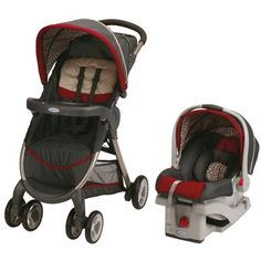 Graco Fastaction Fold Click Connect Travel System, Finley 2015 4.5/5 139