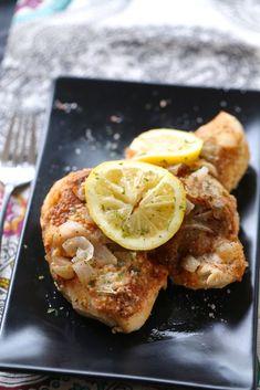 Instant Pot Lemon Garlic Chicken- added potatoes  serve with veggies next time.