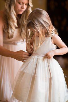 Glamorous wedding at historic estate, lovely flower girl getting ready- gorgeous flower girl dress; Wedding With Kids, Perfect Wedding, Dream Wedding, Wedding Bridesmaids, Bridesmaid Dresses, Wedding Dresses, Wedding Attire, Portraits, Glamorous Wedding