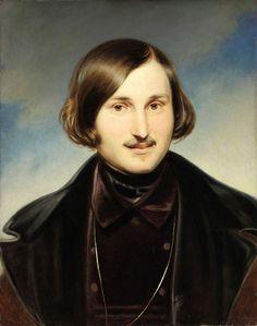 Гоголь Николай Васильевич N.Gogol by F.Moller (1840, Tretyakov gallery)