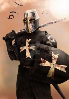 Elite: Hospitalier Knight by dmavromatis.deviantart.com on @DeviantArt