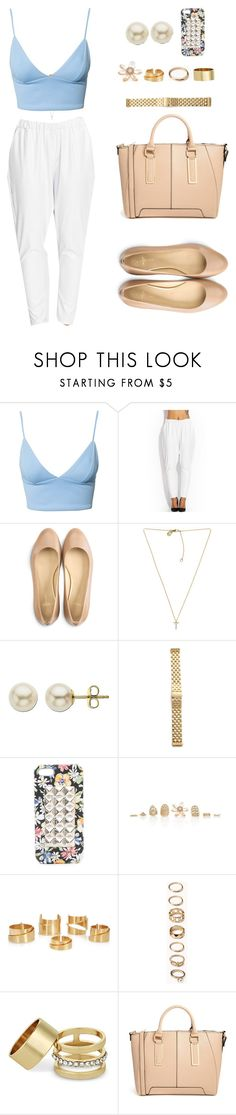 """""""Summer Beauty."""" by cheerstostyle ❤ liked on Polyvore featuring Dark Pink, Cole Haan, Michael Kors, Lord & Taylor, Michele, Jagger Edge, Alexander McQueen, Forever 21, MOOD and ALDO"""